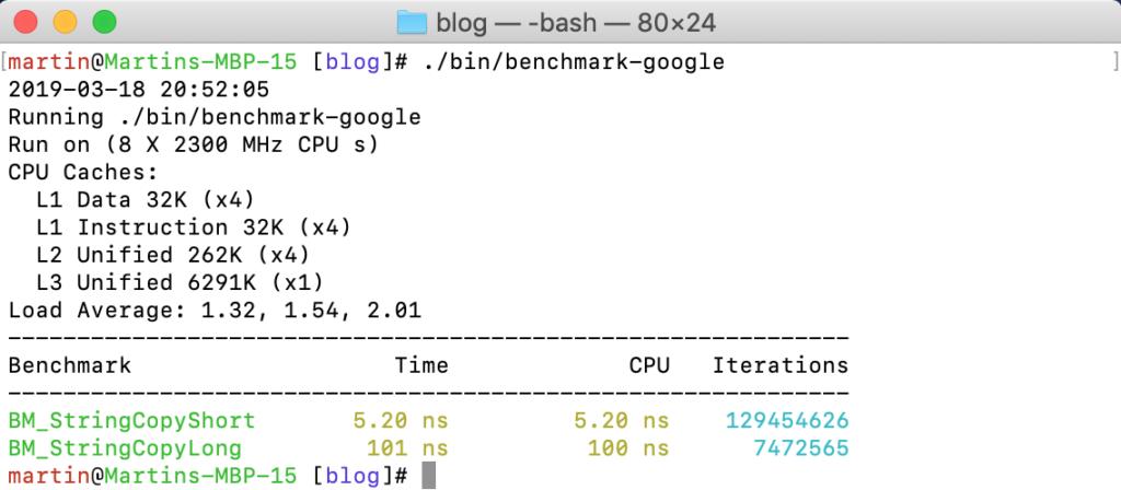 Micro-benchmarks | Vorbrodt's C++ Blog